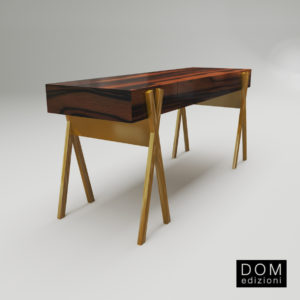 3d model Writing desk Matthieu from Dom Edizioni – Design by Andrea Fogli
