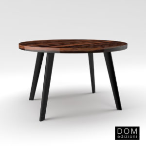 3d Model Dinner Table Harry From Dom Edizioni - Design By Domenico Mula