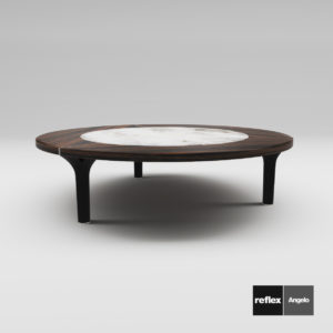 3d Model Coffee Table ARK 40 From Reflex Angelo - Design By Massimo Scolari