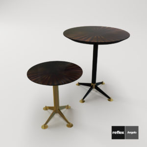 3d Model Bar Table And Gueridon Filippo From Reflex Angelo - Design By Domenico Mula