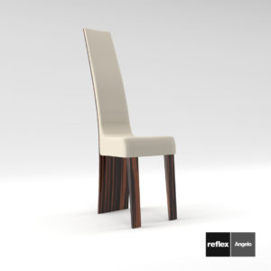 3d model Chair New York XL from Reflex Angelo – Design by Sacha Lakic