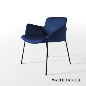 3d Model Chair Burgaz From Walter Knoll - Design By Said & Neptun Ozis