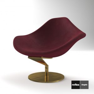 3d Model Armchair Zenit - Poltrona From Reflex Angelo - Design By Marco Cocco