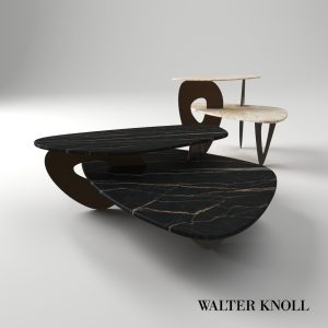 3d Model Coach Table Tama From Walter Knoll - Design By EOOS
