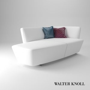 3d Model Recamiere Drift From Walter Knoll - Design By EOOS