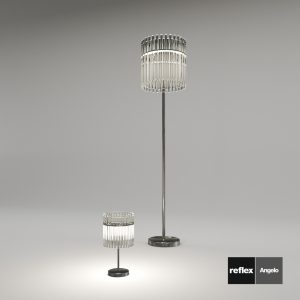 3d Model Floor And Table Lamp Charleston From Reflex Angelo Design By Reflex