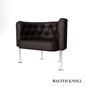 3d Model Armchair Haussmann From Walter Knoll - Design By Trix & Robert Haussmann