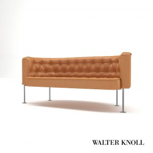 3d Model Sofa Haussmann From Walter Knoll - Design By Trix & Robert Haussmann