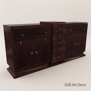 3d Model Sideboard - Art Deco 1920