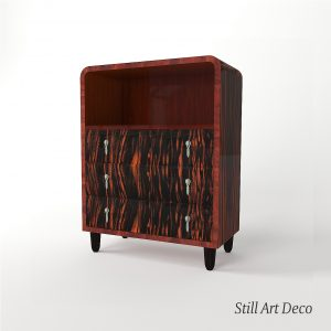 3d Model Art Deco Commode - France 1920