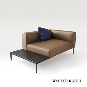 3d Model Armchair Jaan Living From Walter Knoll - Design By EOOS