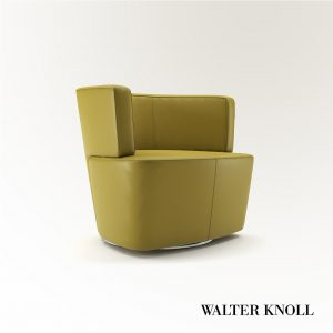 3d Model Armchair Joel From Walter Knoll - Design By EOOS