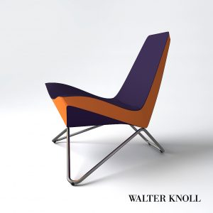 3d Model MY Chair From Walter Knoll - Design By UN Studio / Ben Van Berkel
