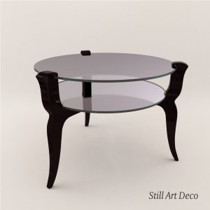3d Model Coach Table - Art Deco 1930
