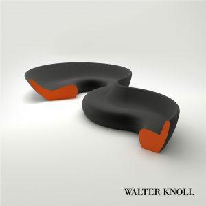 3d Model Sofa Circle From Walter Knoll - Design By UN Studio / Ben Van Berkel