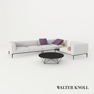 3d Model Sofa Jaan Living 782 From Walter Knoll - Design By EOOS