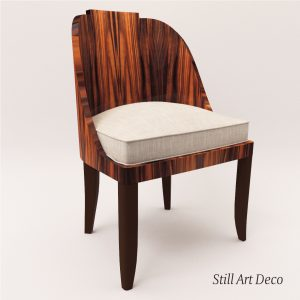 3d Model Chair - Art Deco Style