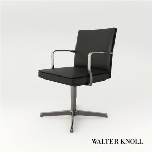 3d Model Rotaring Chair George From Walter Knoll - Design By WK Team