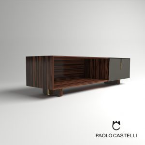 3d Model Fine Collection Cabinet 220 From Paolo Castelli - Design By Paolo Castelli, R&D Team