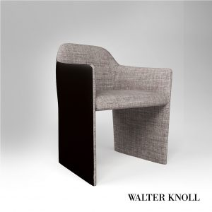 3d Model Armchair Forster 525 From Walter Knoll - Design By Foster+Partners