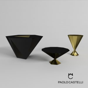 3d Model LS Coffee Tables From Paolo Castelli - Design By Paolo Cast