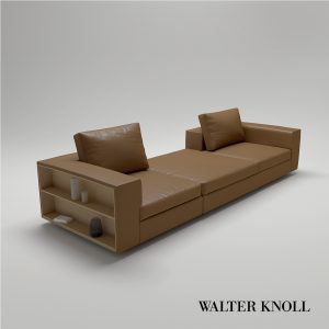 3d Model Sofa Living Landscape 750 From Walter Knoll - Design By EOOS