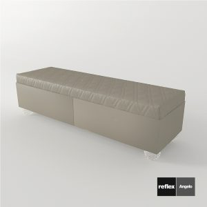 3d Model Bench Rialto From Reflex Angelo - Design By Reflex