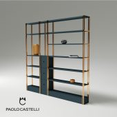 3d Model BDS Bookshelf From Paolo Castelli - Design By Studio Borromeodesilva