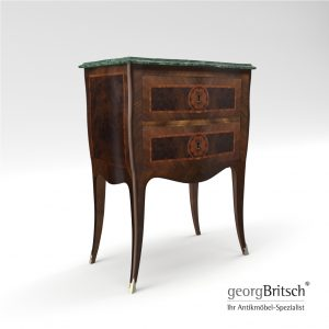 3d Model Baroque Commode – Napoli 1760, Italy - Georg Britsch