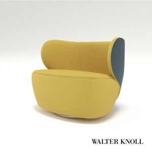 3d Model Armchair BAO From Walter Knoll - Design By EOOS