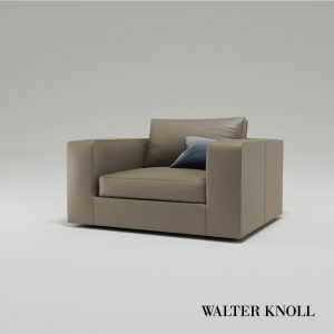 3d Model Armchair Living Landscape 750 From Walter Knoll - Design By EOOS