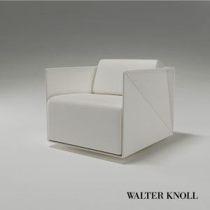 3d Model Armchair T-RAY From Walter Knoll - Design By Hadi Teherani