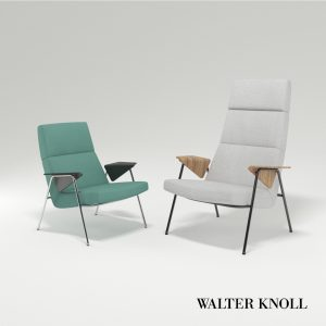 3d Model Armchair Votteler From Walter Knoll - Design By Arno Votteler