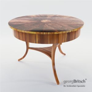 3d Model Salon Table - South Germany 1820 - Georg Britsch