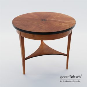 3d Model Biedermeier Salon Table - Germany, Munich 1820 - Georg Britsch