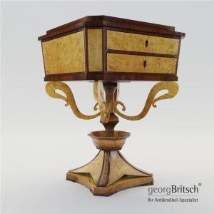 3d Model Biedermeier Sewing Table - Berlin 1820 - Georg Britsch