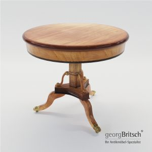 3d Model Biedermeier Salon Table - North Germany 1825 - Georg Britsch