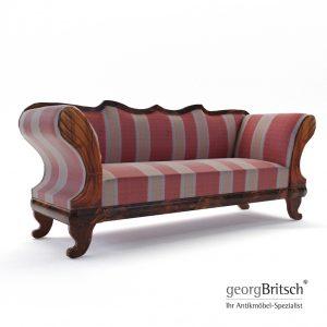 3d Model Biedermeier Sofa - Austria 1840 - Georg Britsch