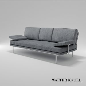 3d Model Sofa Living Platform From Walter Knoll - Design By EOOS