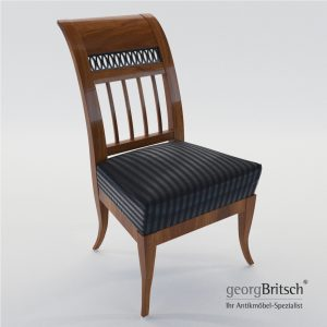 3d Model Biedermeier Chair - Munich, Germany 1805 - Georg Britsch