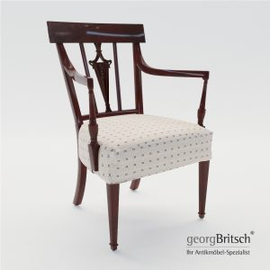 3d Model Armchair - England About 1900 - Georg Britsch