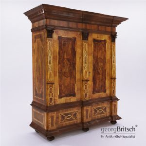 3d Model Baroque Cupboard - Germany 1720 - Georg Britsch