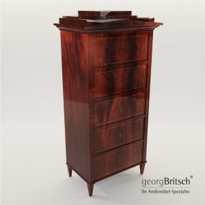 3d Model Biedermeier Chiffoniere - North Germany 1820 - Georg Britsch