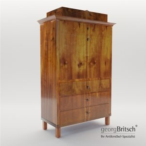 3d Model Biedermeier Secretaire - South Germany 1820 - Georg Britsch
