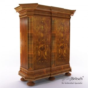3d Model Baroque Cupboard - South Germany, 18. Century - Georg Britsch