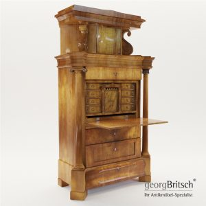 3d Model Biedermeier Secretaire - Germany About 1820 - Georg Britsch