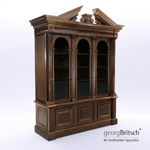 3d Model Historicism Bookcase - South Germany 1880 - Georg Britsch