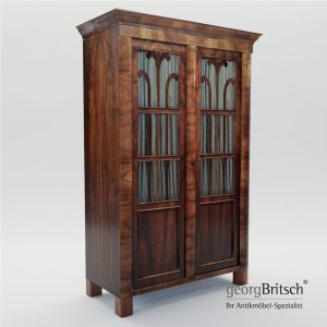 3d Model Biedermeier Book Case - Austria 1830 - Georg Britsch