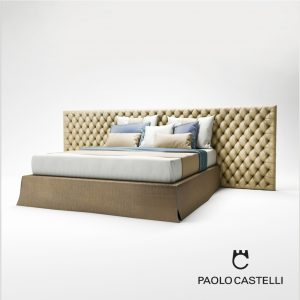 3d Model My Bed Capitonné From Paolo Castelli - Design By Paolo Castelli