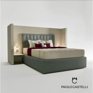 3d Model Bed Private From Paolo Castelli - Design By Paolo Castelli